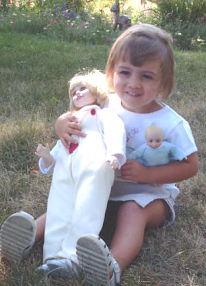 Children with Gift of Life Doll